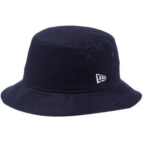 NEW ERA(ニューエラ) バケット ハット ツイル コットン ネイビー 帽子
