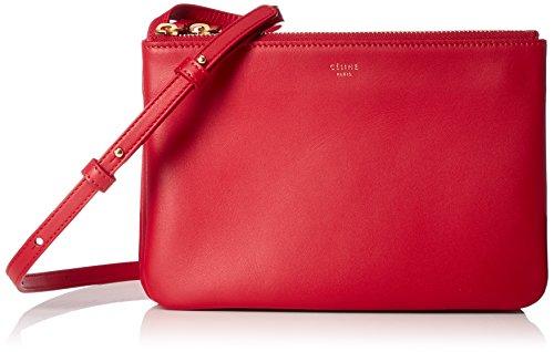 [セリーヌ]の赤いバッグは女性人気