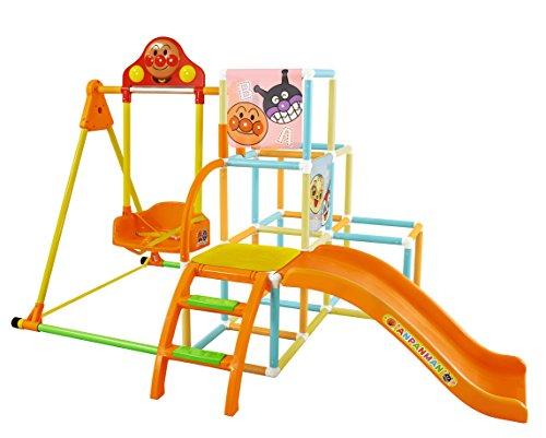 アンパンマンのジャングルジムは子供が大好きなおもちゃ