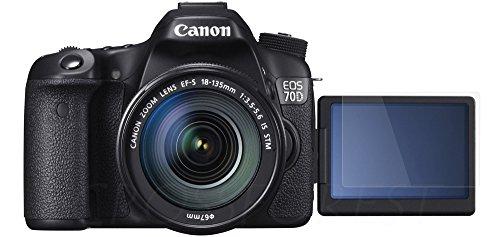 クロスフォレスト Canon EOS 70D用ガラスフィルム ラウンドエッジ Glass Film 「CF-GCC70D」液晶保護フィルム