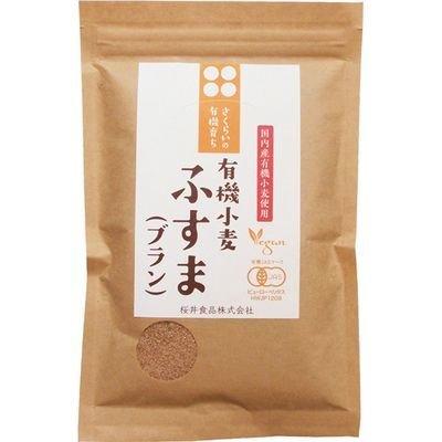 桜井食品 有機育ち ふすま ブラン 100g