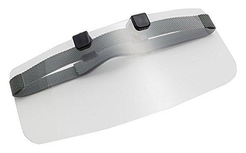 雨バイザー 自転車 雨具 レインバイザー 日本製 グレー カッパ補助具 コーティング液なし 帽子 ヘルメットにも装着可