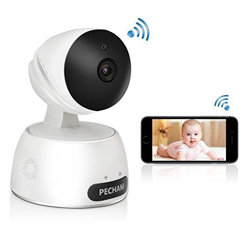 ネットワークカメラ ペットカメラ 子供見守り IPカメラ 720P 100万画素 WIFI対応 遠距離監視 通信可能 夜間監視 アラーム機能 パソコン スマホ対応 高画質 webカメラ 操作簡単 1年品質保証 …