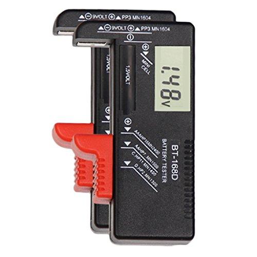 Sherry バッテリー容量テスター  指針式とデジタル式 選べる バッテリーテスターボルトチェッカー9V 1.5VおよびAA AAAセル