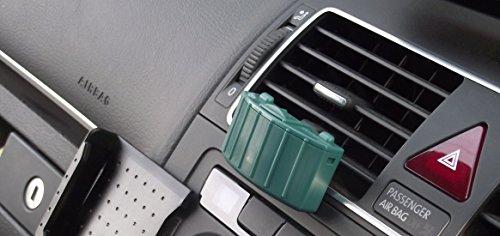 ナチュラルデオクリップ◆クリップ式フィトンチッド消臭器◆色:緑