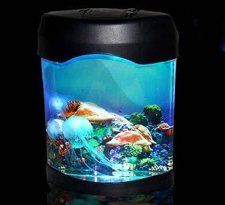 イルミネーション 循環ポンプ 卓上 クラゲ 水族館 イルミニウム