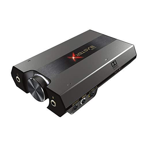Creative Sound BlasterX G6 高音質 ポータブル ハイレゾ対応 ゲーミング USB DAC PC PS4 Switch SBX-G6