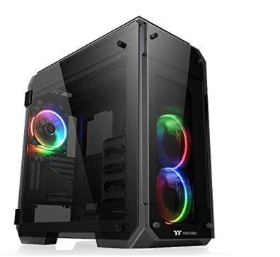 Thermaltake VIEW 71 TG RGB フルタワー型PCケース [4面強化ガラスパネル搭載] CS6929 CA-1I7-00F1WN-01
