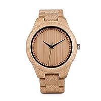 ww01すべて竹腕時計メンズフルWood Watchレディース腕時計竹バンドブレスレット腕時計 Women