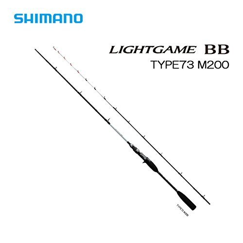シマノ ロッド ライトゲーム BB タイプ73 M200