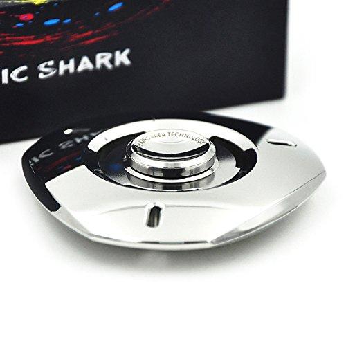 MixMart ハンドスピナー UFO 鏡面研磨 5-10分間 ステンレス製 銀