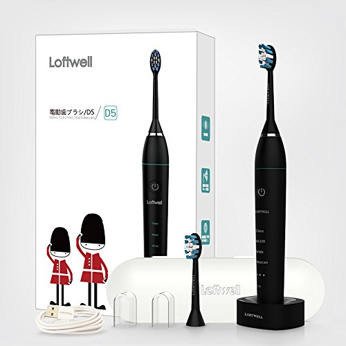 歯を簡単にきれいにする電動歯ブラシ