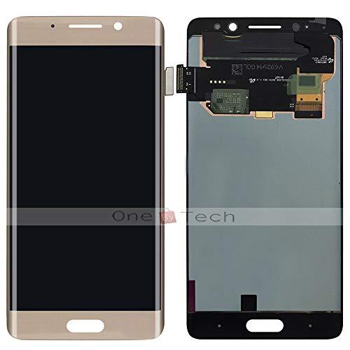 """FidgetGear 5.5""""Huawei社メイト9プロシャンパンゴールドAMOLED LCDディスプレイタッチスクリーンアセンブリ"""