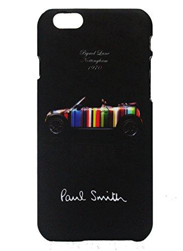Paul Smith ポール・スミス iPhone 6 ハードケース 4.7インチ ケース アイフォン 専用ケース ハードカバー ロゴ クラッシックミニ(黒)