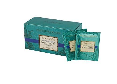 フォートナム&メイソン Royal Blend Decaffeinated ティーバッグ 25個入り 個包装 ノンカフェイン ロイヤルブレンド [海外直送品]