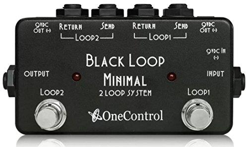 One Control ワンコントロール Minimal Series エフェクター スイッチャー 2Loop with 2DC OUT Black Loop 高橋しょう子(たかしょー)さんのギターの機材! AV・セクシー女優だけど超本格派!