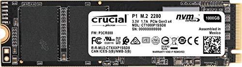 Crucial SSD M.2 1000GB P1シリーズ Type2280 PCIe3.0x4 NVMe 5年保証 CT1000P1SSD8JP