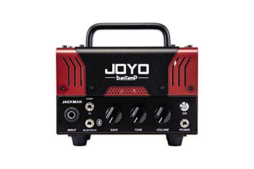 【国内正規品】JOYO ジョーヨー banTamP JACKMAN(レッド) 20W 2チャンネル チューブアンプヘッド 【440g~】超小型アンプ特集!小さく持ち運びも楽で良い音のする安い小型ヘッドアンプ!