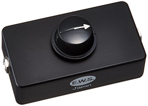 E.W.S. ボリュームコントローラー Subtle Volume Control エフェクターのノブを足で簡単に操作するOption Knobs GloKnobが面白い!
