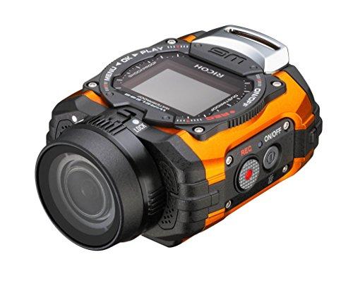 RICOH 防水アクションカメラ  WG-M1 オレンジ  WG-M1 OR 8286