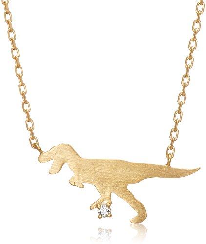 [ブルーム] BLOOM 【WEB限定】シルバー イエローゴールド ダイヤモンド ティラノサウルス ネックレス BSPYB0063940