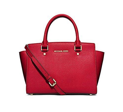 女性に人気の高いブランド[マイケルマイケルコース] の赤いバッグ