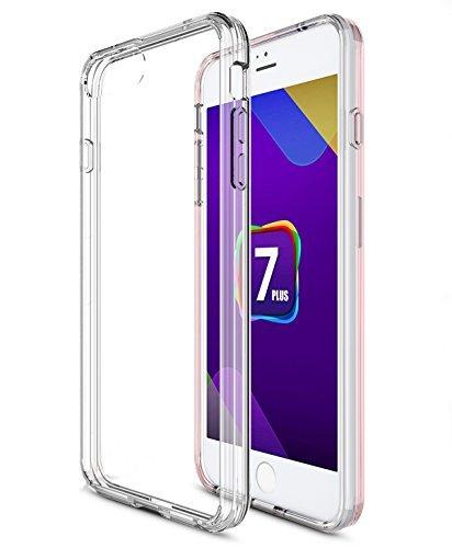 iPhone 7 ケース 【KuGi】 iPhone 7 背面カバー 耐衝撃 超軽量 薄タイプ シンプルデザイン 落下防止 耐スクラッチ 保護カバー クリア