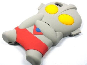 ウルトラマン ULTRA MAN 2分割 iPhone4/4S カバー ケース