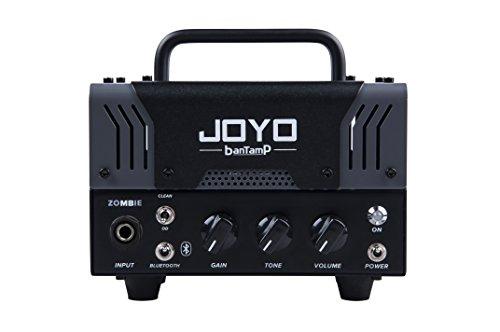 【国内正規品】JOYO ジョーヨー banTamP ZOMBIE(グレー)20W 2チャンネル チューブアンプヘッド 【440g~】超小型アンプ特集!小さく持ち運びも楽で良い音のする安い小型ヘッドアンプ!