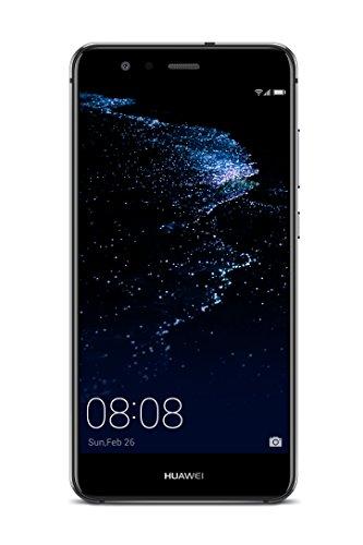 Huawei 5.2型 P10 lite SIMフリースマートフォン ミッドナイトブラック 【日本正規代理店品】 P10 LITE/WAS-LX2J/MI