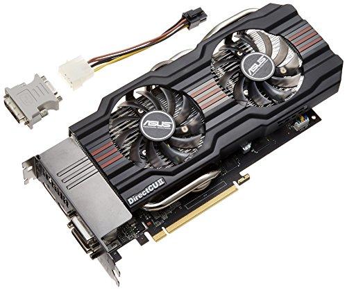 ASUSTeK NVIDIA GTX660TIチップセット搭載 OCモデル グラフィックカード GTX660TI-DC2O-2GD5 【PCI-Express3.0】