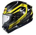オージーケーカブト(OGK KABUTO)バイクヘルメット フルフェイス AEROBLADE5 RUSH(ラッシュ) ブラックイエロー 570514 M (頭囲 57cm~58cm)