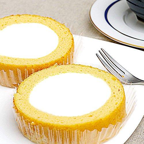 低糖質ロールケーキ 4個(低糖工房)糖質制限やダイエットにおすすめ! (1個あたり糖質2.5g プレーン 55g×4個)