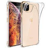 iPhone 11 Pro max ケース iPhone 11 Pro max 全面クリアケース iPhone 11 pro max 全面保護カバー 四つ隅保護 Olycism iPhone 2019 6.5インチ TPU 薄型 衝撃吸収 擦り傷防止 軽量 防指紋 シリコン素材 透明
