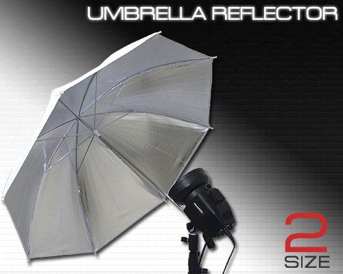 柔らかい光で自然に描写 ストロボ撮影用アンブレラ Lサイズ