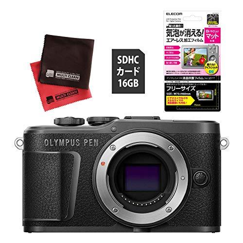 【セット】 (SDカード16GBセット) オリンパス PEN E-PL10 ボディー ブラック