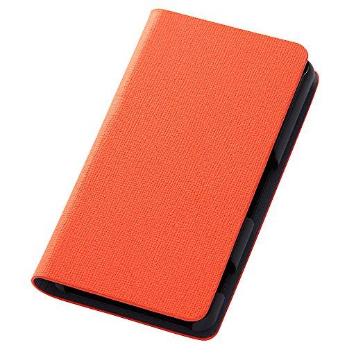 レイ・アウト docomo Xperia Z3 Compact SO-02G カラフル・スリムレザージャケット オレンジ RT-SO02GCLC2/O
