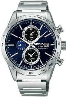 e2ba6967ef [セイコー]SEIKO 腕時計 SPIRIT SMART スピリットスマート クロノグラフ ソーラー サファイアガラス 日常生活用強化防水  (10気圧) SBPY115 メンズ