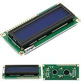 HiLetgo DC 5V HD44780 1602 LCD ディスプレイモジュール 16×2キャラクタ LCDブルーブラックライト (2個セット) [並行輸入品]