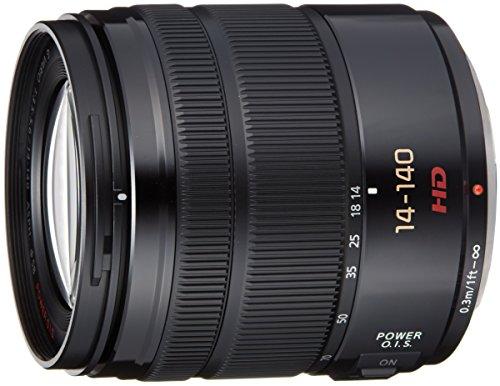 Panasonic マイクロフォーサーズ用 交換レンズ LUMIX G VARIO 14-140mm /F3.5-5.6 ASPH. / POWER O.I.S. ブラック H-FS14140-K