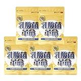 健康いきいき倶楽部 乳酸菌革命 5袋セット (62粒入×5袋) 乳酸菌 サプリ