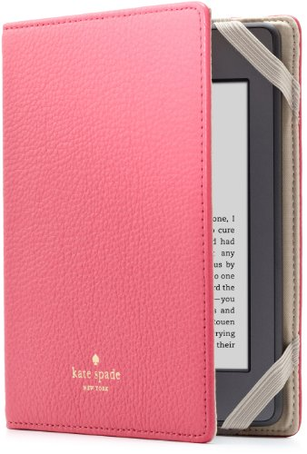 kate spade new york Pebbled Leather Case (Kindle Paperwhite専用)