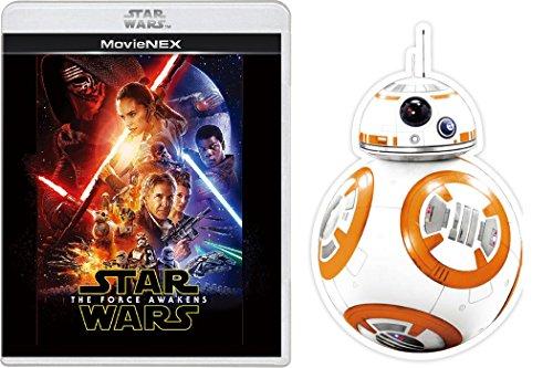 【Amazon.co.jp限定】 スター・ウォーズ/フォースの覚醒 MovieNEX [ブルーレイ+DVD+デジタルコピー(クラウド対応)+MovieNEXワールド] (BB-8グリーティングカード付) [Blu-ray]