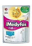 メディファス キャットフード スープパウチ 15歳から しらす・かつお節入り 長寿猫用 40g×12個 (まとめ買い)