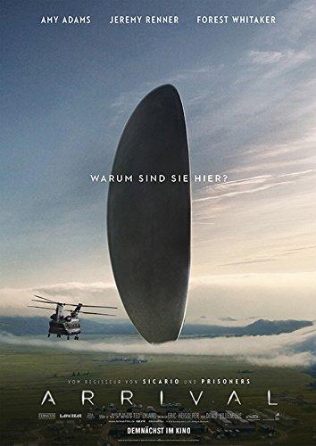 映画 メッセージ ポスター 42x30cm Arrival 2016 エイミー アダムス ジェレミー レナー フォレスト ウィテカー