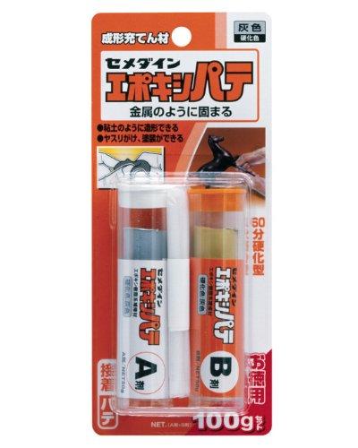 セメダイン 成形充てん材 エポキシパテ セット 100g ブリスター HC-115