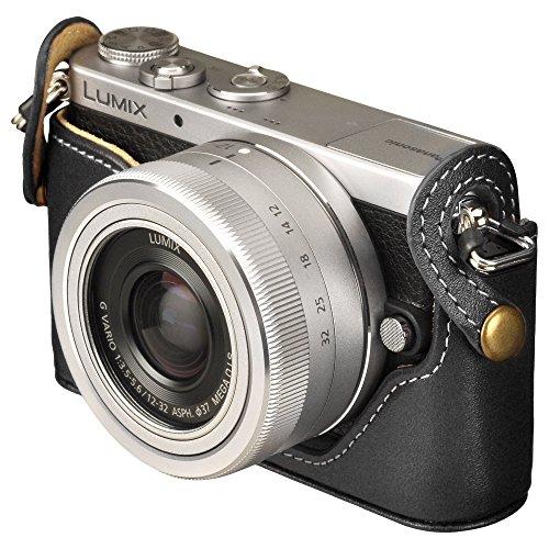 HAKUBA カメラケース 本革 ボディケース Panasonic LUMIX GM5専用 ブラック DBC-GM5BK