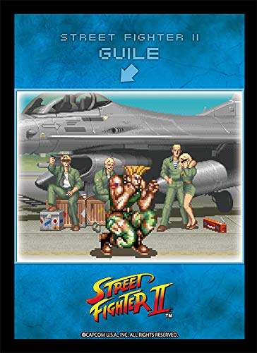 ブロッコリーキャラクタースリーブ STREET FIGHTER II「待ちガイル」