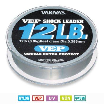 モーリス バリバス VEP ショックリーダー ナイロン 12~20lb ・12lb(3号)