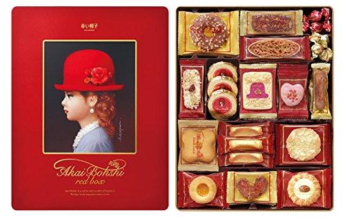 赤い帽子のクッキーはホワイトデーのお返しの定番